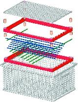 Reinigungs-Hordensystem: Flexibles Behältersystem  verbessert Reinigung