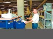 Zentrale Materialflusssteuerung Matcontrol: Zentrale Steuerung der Lagertechnik