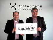 Labortechnik: Köttermann jetzt neuer  Premium-Partner bei labpoints.de