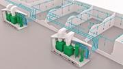 Druckluftrohrsystem: Einsparungen