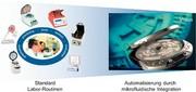 Lab-on-a-chip Design- & Foundry-Service: Assay-Automatisierung  als Dienstleistung