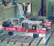Mechanisch-hydraulischer Maschinenschraubstock NC-M: Exakte Spannkraft