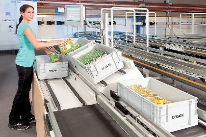 Kommissionierstation: Für ein hohes Warenaufkommen