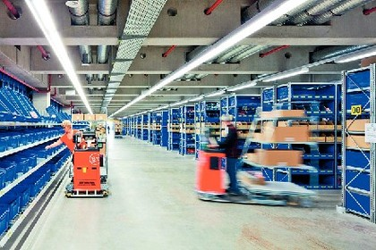 Lagertechnik: Moderne Zentrale