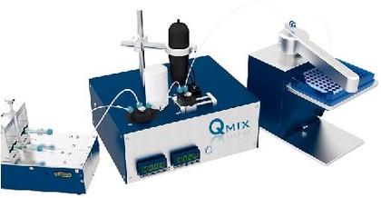 Analysenplattform Qmix: Mikrofluidische Analysenplattform
