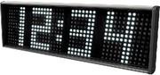 LED-Uhr: Zehn Anzeigen
