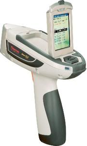 Mobiles RFA-Spektrometer Niton XL3t Air: Schichtdickenmessungen at line