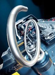 Rechts-Links-Rohrbiegemaschine: Vollelektrisch für Rohre