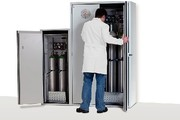 Arbeitsschutz: Druckgasflaschen effizienter lagern