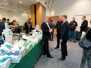 Panorama: OMNILAB Labormesse  in Rostock mit zufriedenen Besuchern