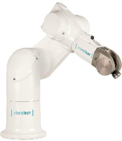 Sechsachsroboter Stericlean: Sauber gekapselt