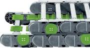 Profilrollen-Energiekette P4: Rollen statt gleiten