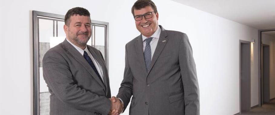 Jacques Lanners und Dr. Christof Bönsch
