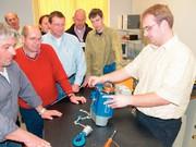 Kran-Instandhaltungsabteilung: Schulungen beim Kranhersteller