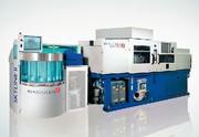 Oberflächen-Produktionslinie: Kunststoffe  automatisch metallisieren
