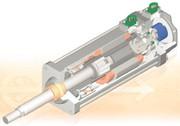 Elektrische Stellzylinder: Exakte Position
