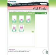 Labortechnik: Online-Vial-Selection-Tool