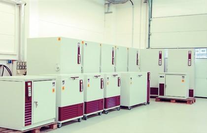 Temperiertechnik: GFL: Hallen-Neubau  für Temperiergeräte