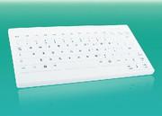 Tastatur Silicone BasicOne: Hygienisch schreiben