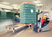Gabelstapler: Enormer Umschlag im Glaslager