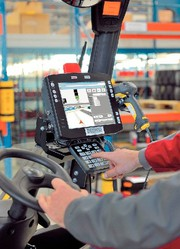 Material handling: Mit Ortung