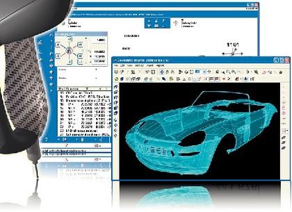 Handyprobe: Tragbare 3D-Messtechnik im Automobilbau