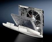 EMV-Filterlüfter: Lüfter mit Schirm