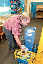 Hydraulikverbindungen: Stark mit nur einem Arm