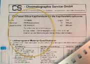 CE-Kapillaren: Auch für neutrale Moleküle