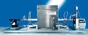 Kontaktwinkelmessgerät OCA 15 LHT-SV: Kontaktwinkel bei 1800 °C