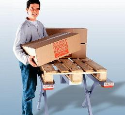 Material handling: 500 Paletten täglich