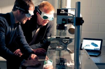 Lasertechnologie: Der Zeit voraus
