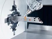 Laser-Rohrschneidanlage: Bis zu 45 Grad