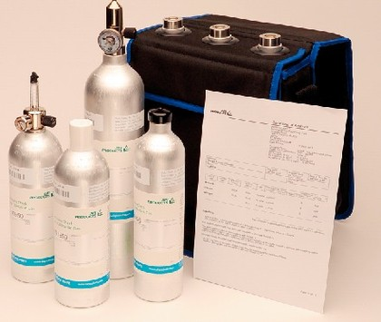 Einweggasflaschen: Einwegflaschen für Spezialgase: Klein, aber fein