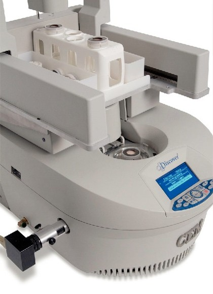 Mikrowellen-Synthesizer Explorer 12 Hybrid: Flexible Synthesen