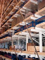 Lagersysteme: 3.500 Paletten auf 650 Quadratmetern