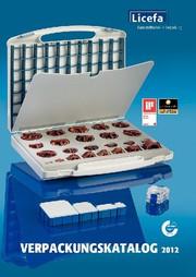 Kataloganzeige: Kataloganzeige LICEFA Kunststoffverarbeitung