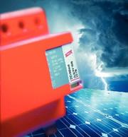 Blitzstrom-Ableiter: Schutz für PV-Anlagen