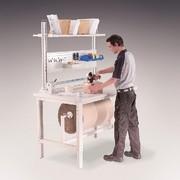 Packtisch: Packtisch: Tisch mit System