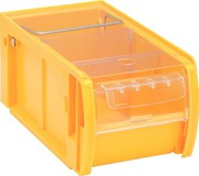 Kanban-Behälter: Kanban-Behälter: Kiste mit Scheibe