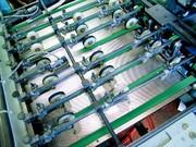 Maschinenbänder: Falten und Falzen
