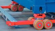 Containerfahrwerk: Containerfahrwerk: Gedreht – und sicher