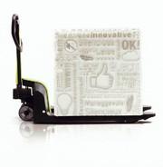 Handhubwagen: Polymer wie Stahl