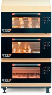 Inkubationsschüttler: Schüttler mit neuer Tür und Benutzeroberfläche