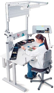 ESD-Systemarbeitsplätze: ESD-Systemarbeitsplätze: Arbeiten nach Plan