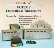 Faseroptische Temperaturmessgeräte FOTEMP-Serie: Faseroptische Temperatursensoren