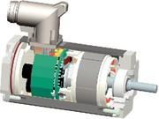 DC-Servomotor BG 45 SI: DC-Servomotor: Total verkleinert
