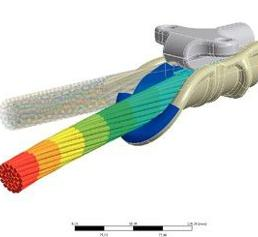 Simulation: Effiziente Seilschaften  für Freileitungen