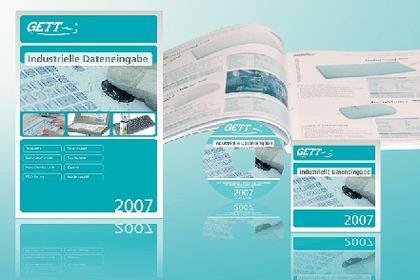 """Produktkatalog """"Industrielle Dateneingabe 2007"""": GETT präsentierte zur CeBIT 2007 neuen Produktkatalog"""