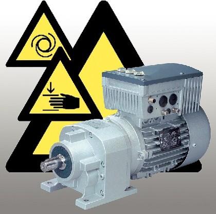 Dezentrale Frequenzumrichter: Sicherer Halt